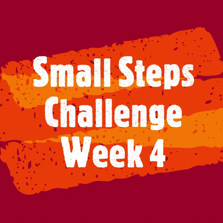 Small Steps Challenge: Replace sweets with fruit