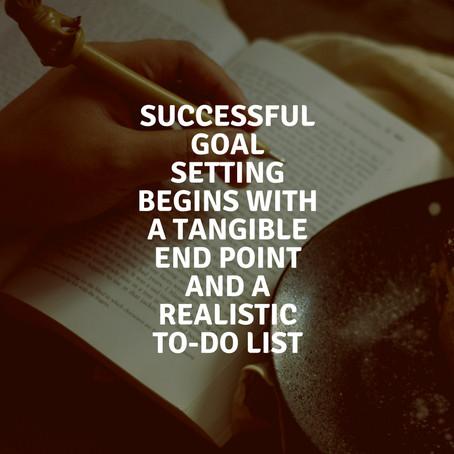 Creating mini-goals for long-term success