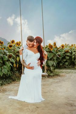 Sunflower Maternity session