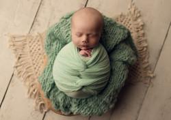 Sleepy newborn