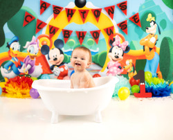 Mickey Mouse bubble bath