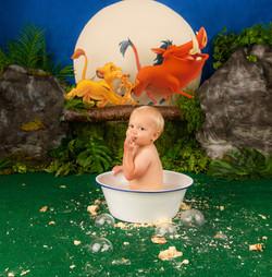 cake smash and splash
