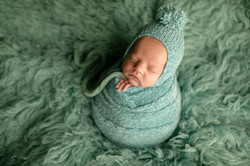 Baby with bonnet