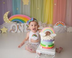 rainbow baby birthday