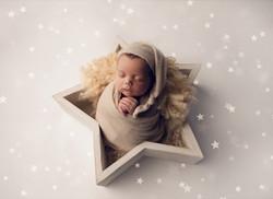 Star bowl newborn prop