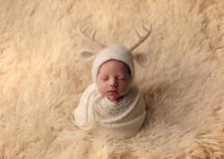 Felted newborn props