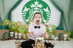 Starbucks birthday theme