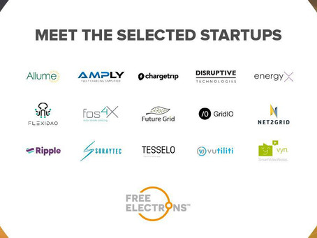 Free Electrons 2020: NET2GRID was selected within the Top 15 bootcamp finalists.