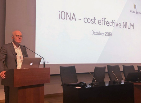 Opening keynote at European NILM conference: IONA - NILM in a commercial rollout