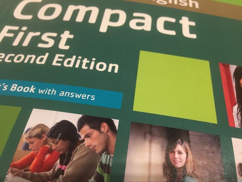 Cambridge English Compact First.