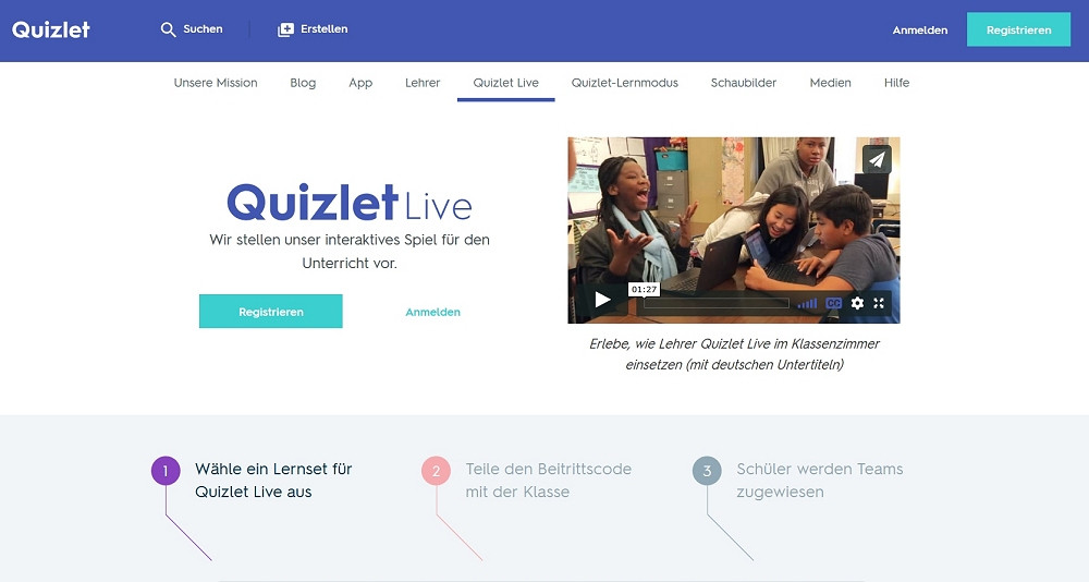 Quizlet Live.
