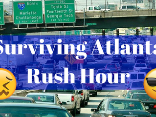 6 Tips to Survive Atlanta Rush Hour