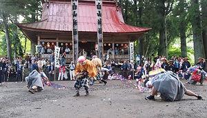 寒水の掛け踊り,白山神社,白山神社祭礼,秋まつり,明宝
