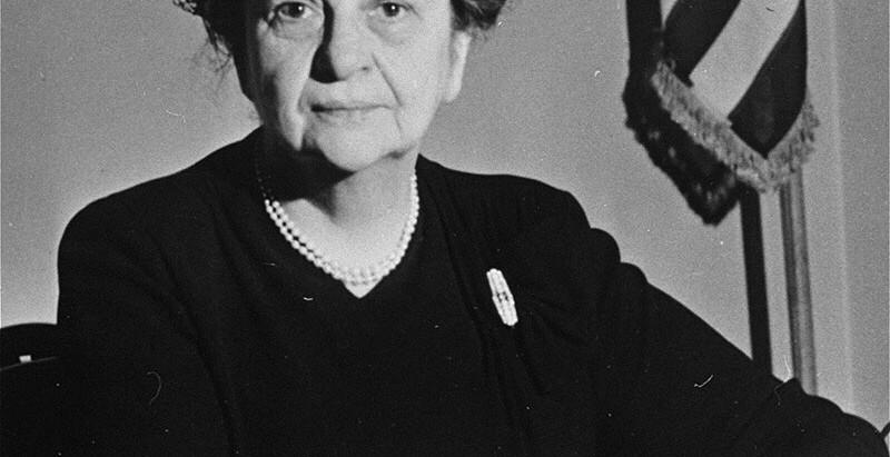 Френсіс Перкінс — перша жінка в уряді Сполучених Штатів