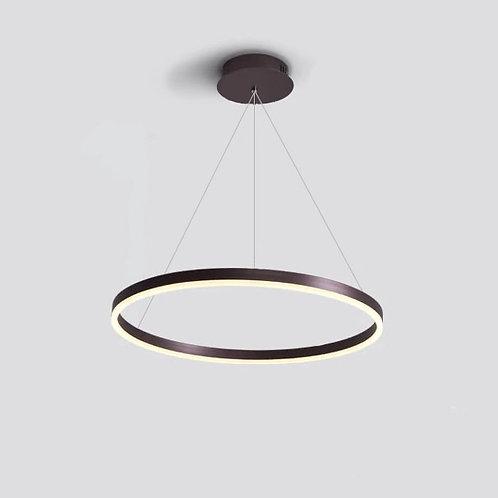 Ring Lampe Bright Single XXL Coffee