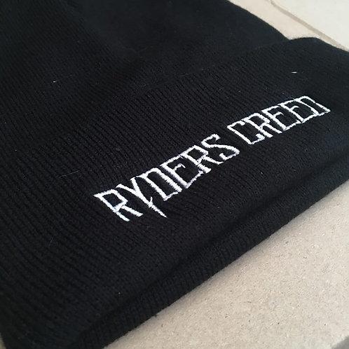 Ryders Creed Beanie Hat! (Black)