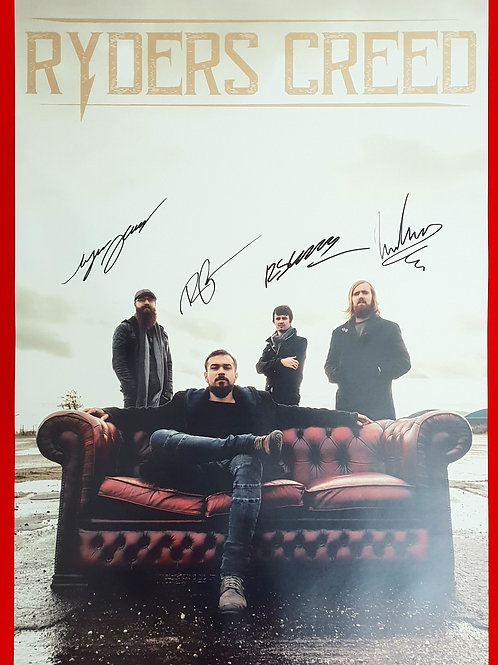 RYDERS CREED A2 Poster! (Signed)