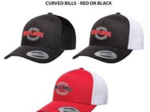 Snapback Trucker Hats - Curved Bills