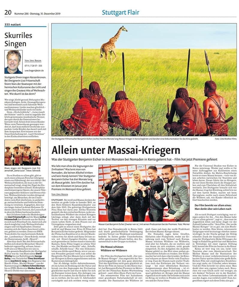 Allein unter Massai-Kriegern