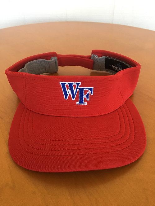 Red, WF visor