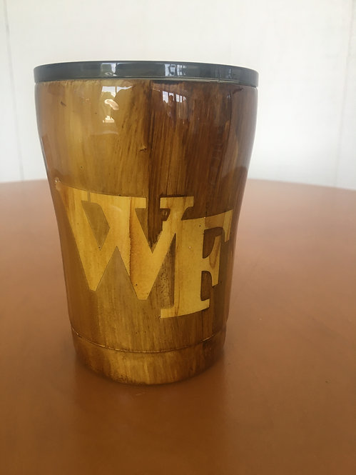 WF Brown 12 oz tumbler