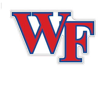 "Wake Forest ""WF"" Car Magnet"