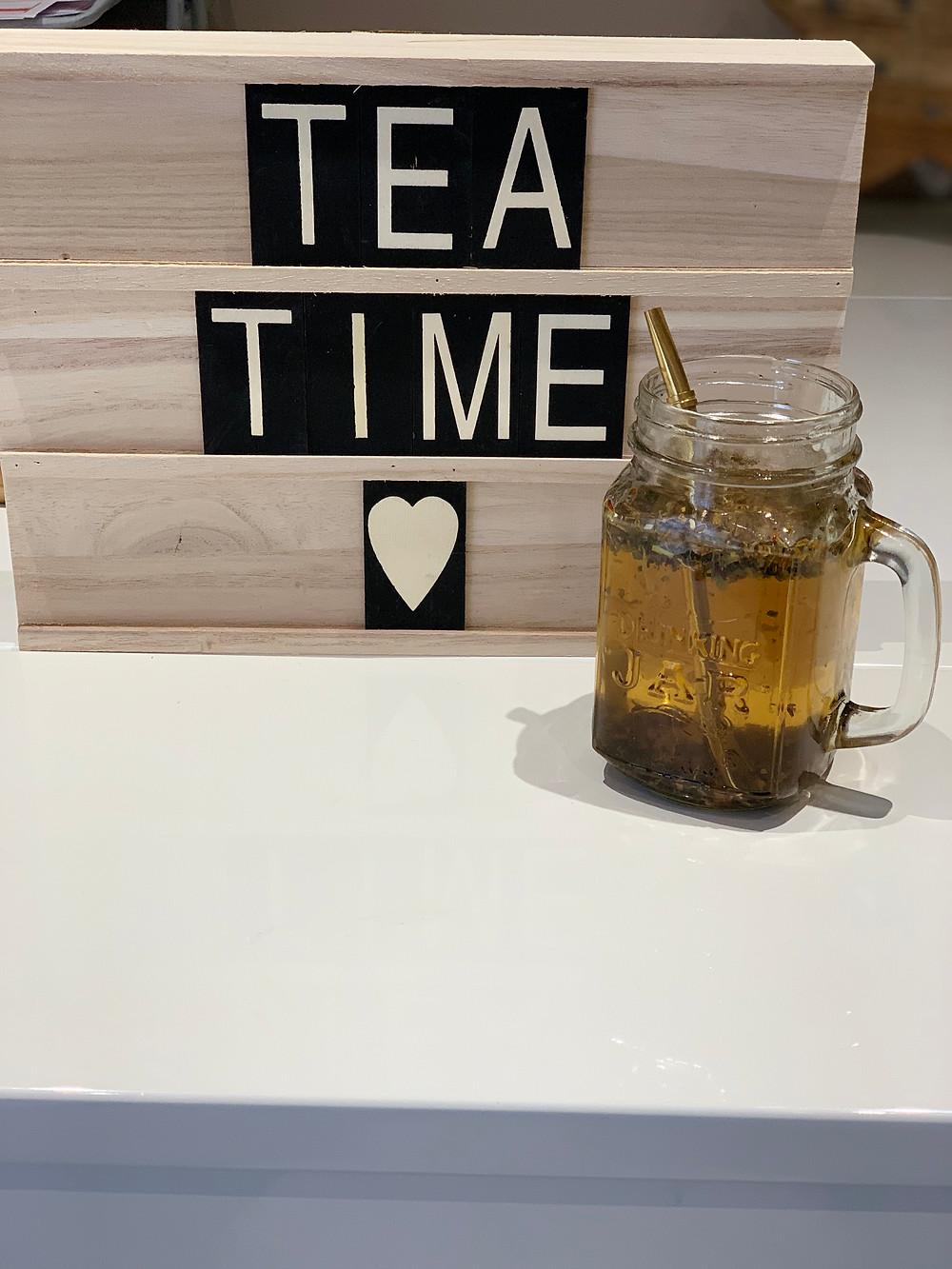 tea time, instant thé, thé vert