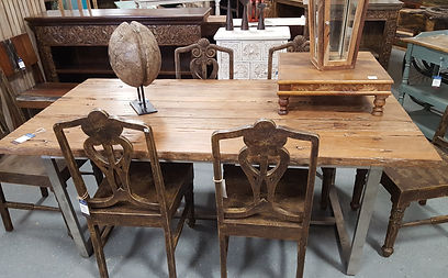 Rustic Dining Table In Artisan Furniture Orlando Large Selection Of Tables Located