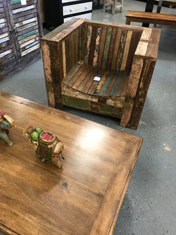 Rustic Wooden Seating