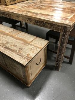 Farmhouse Table and Trunk