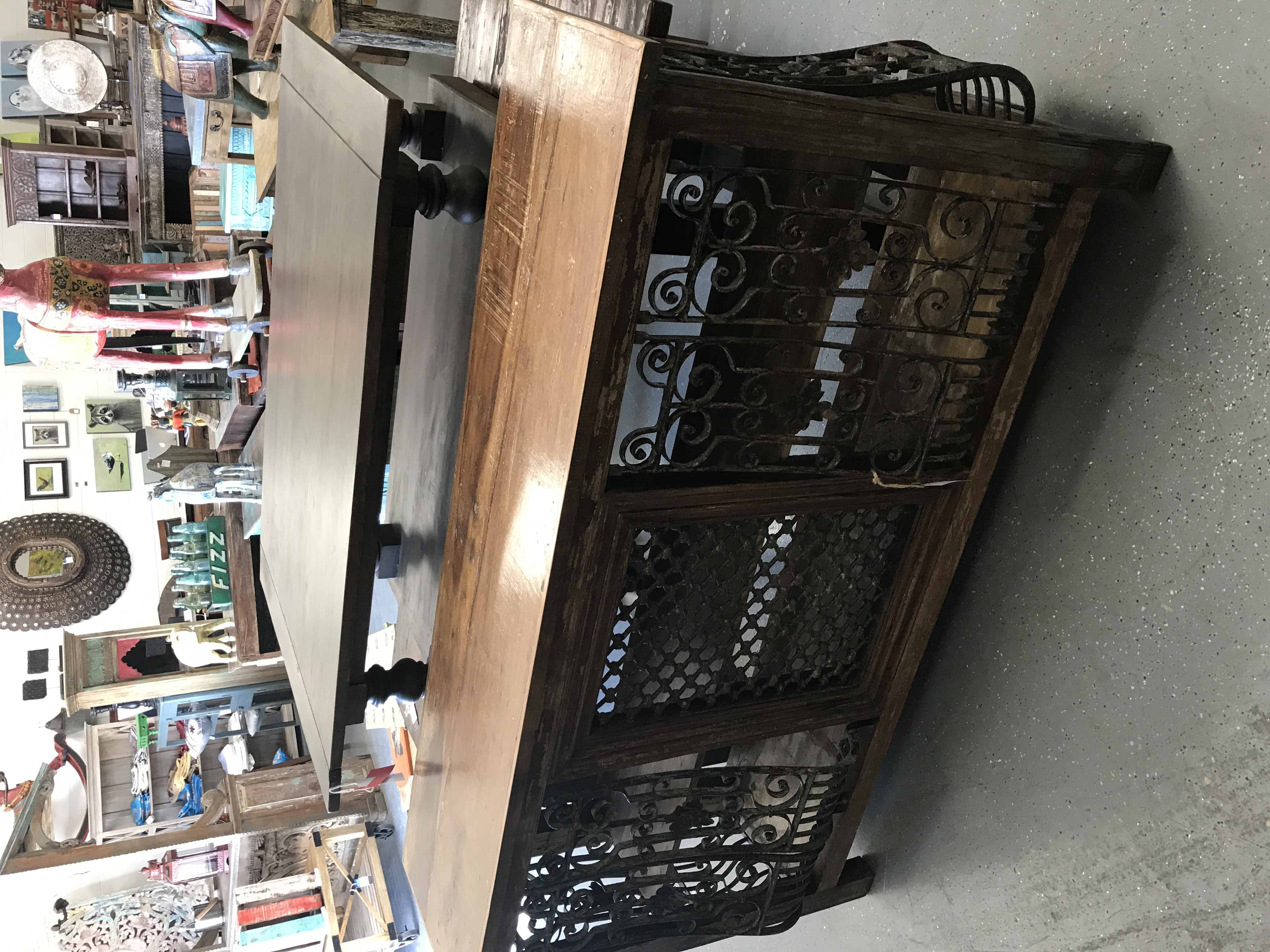 Wrought Iron Bar - Furniture Orlando