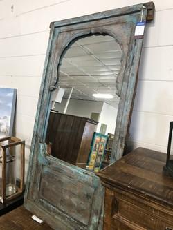 Rustic Wooden Mirror