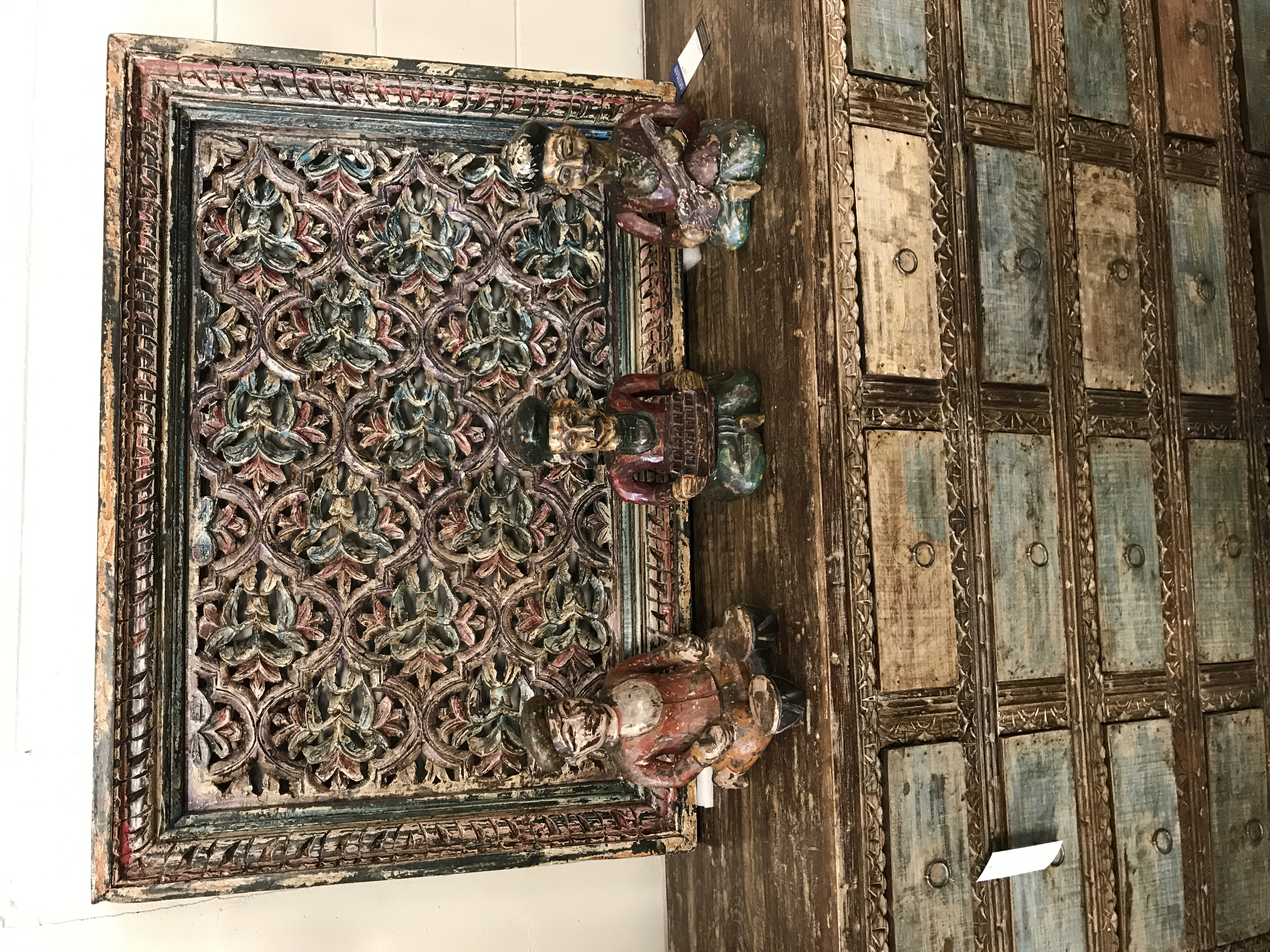 Carved Wooden Wall Decor