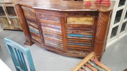 Boat Wood Home Bar in Orlando