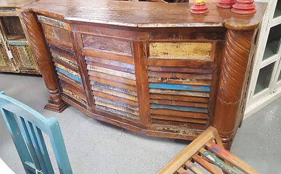 ... Colorful Wood Bar Orlando. Located In Artisan Furniture In Orlando.