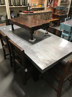 Galvanized Table in Orlando Store