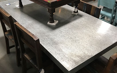... Galvanized Dining Table In Artisan Furniture Orlando. Large Selection  Of Dining Tables Located In Orlando ...