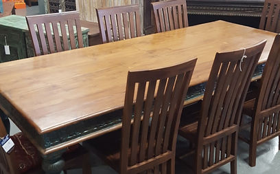 Hand Carved Dining Table In Artisan Furniture Orlando. Large Selection Of  Dining Tables Located In ...