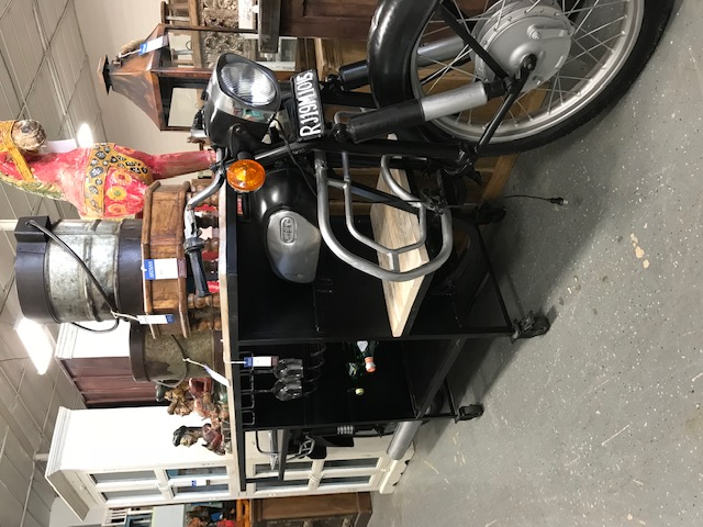 Reclaimed Motorcycle Bar