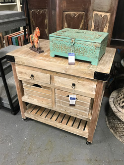 Solid Wood Kitchen Island in Orlando