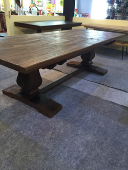 Solid Wood Tables Thick