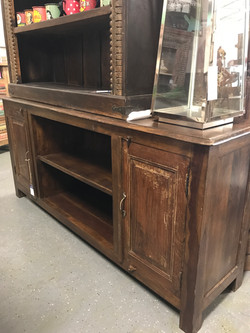 Distressed TV Stand