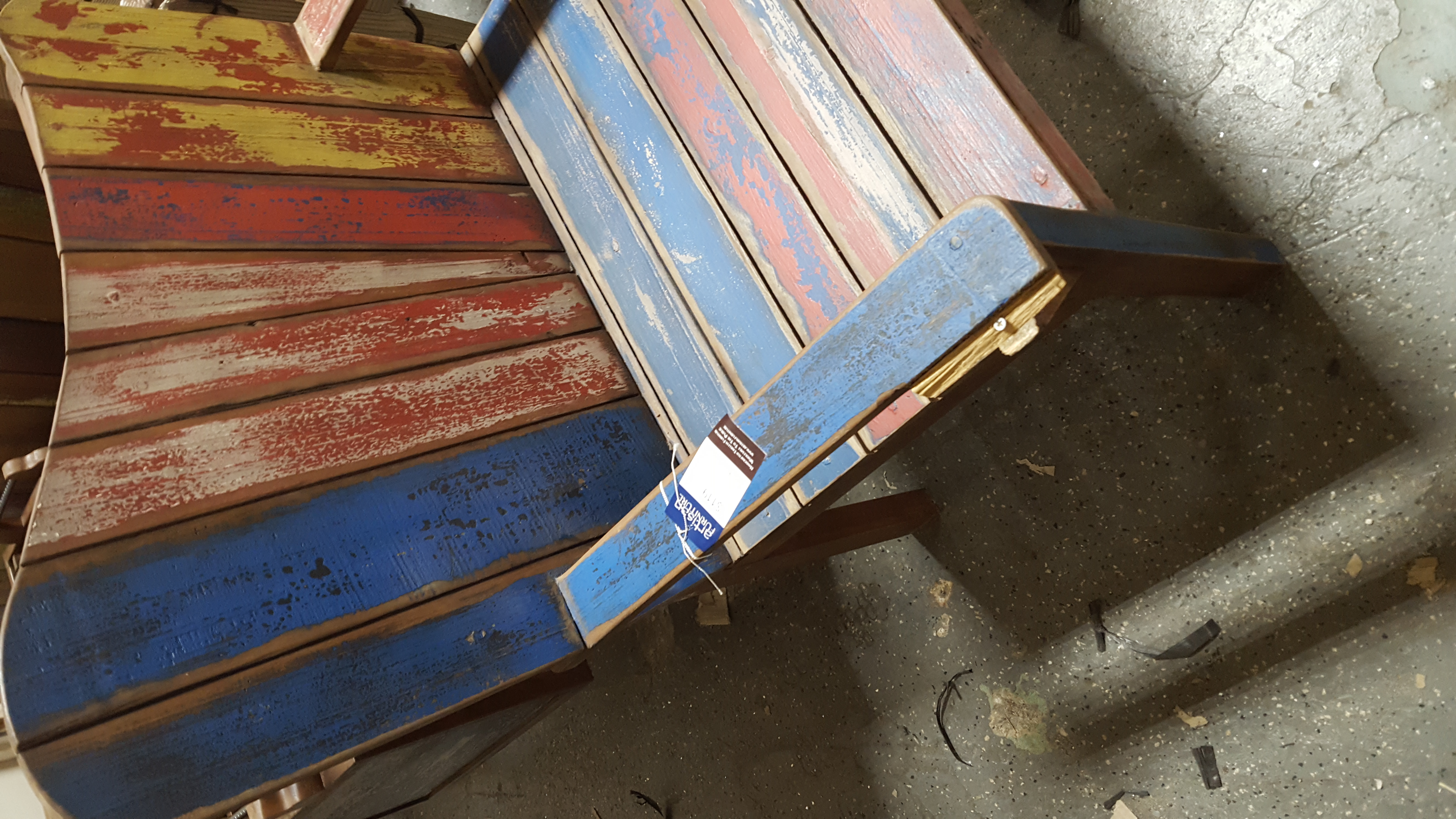 Boat Wood Chair