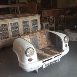 Converted Car Seating