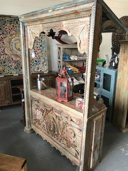 Wood Inlay Wood Canopy Bar - Orlando