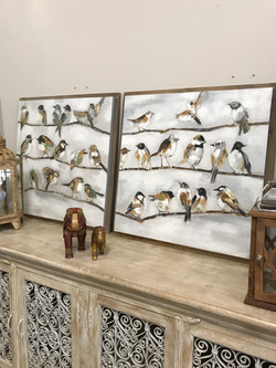 Bird Artwork Wall Decor