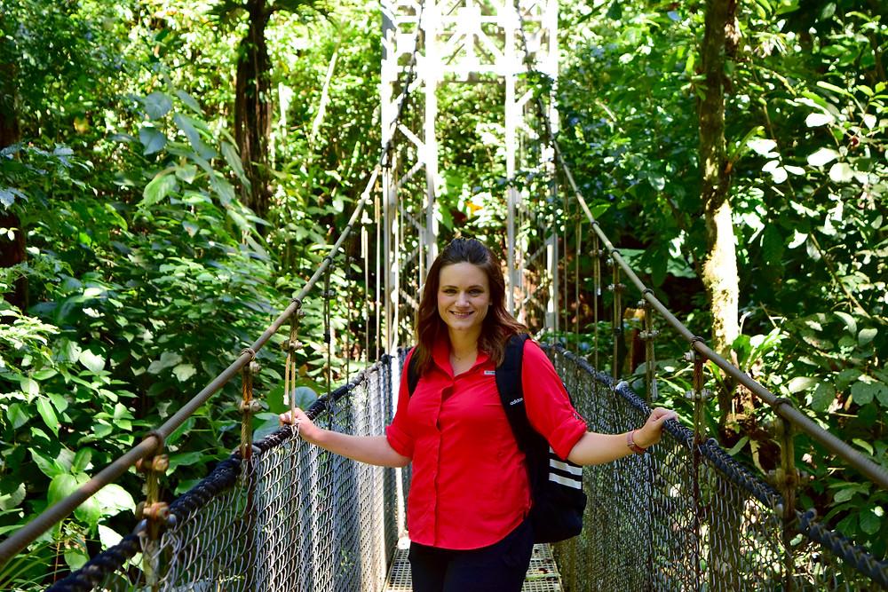 hanging bridges Arenal