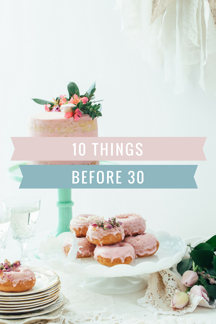10 things before 30