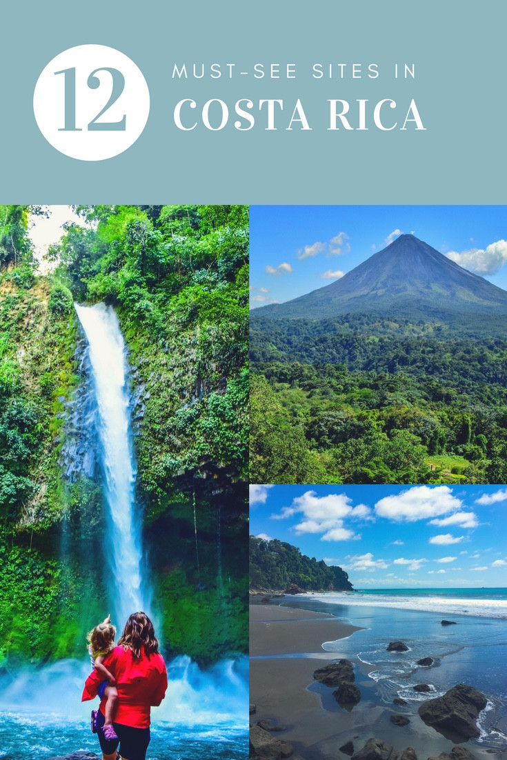 12 must see sites in Costa Rica