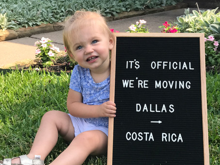 It's official, we're moving!